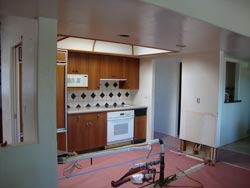 Kitchen before picture